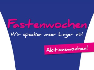 Fastenwochen – Aktion Winterjacken