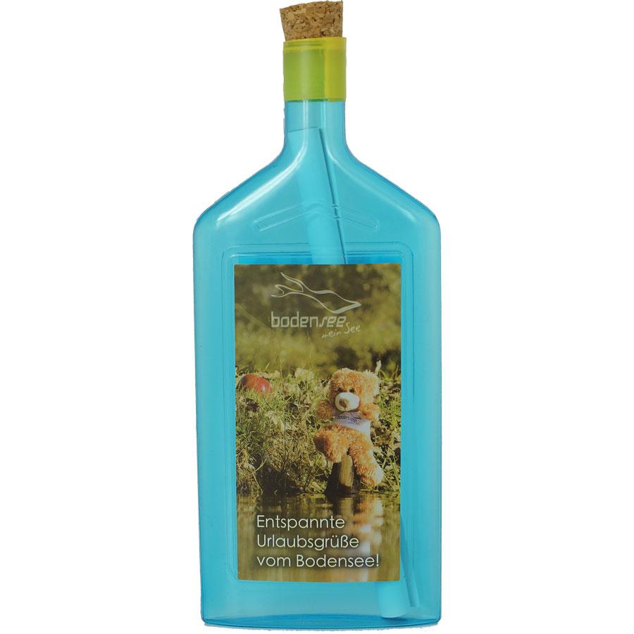 Flaschenpost Immenstaad mit Fellchen/Bär
